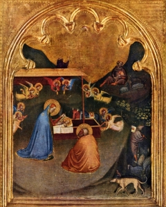 Nativity of San Pancrazio,  Bernardo, fl. 1327-1348.
