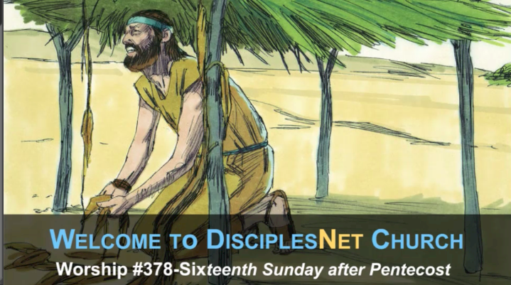"DisciplesNet Worship #378 ""Reluctant Obedience (Shaw 09.24.2017)"