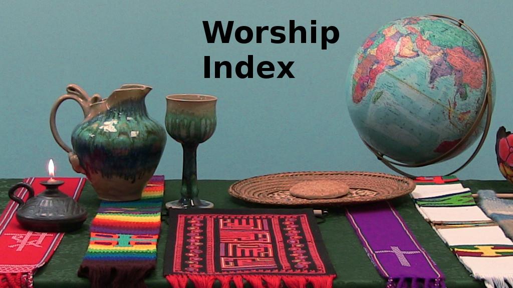 Worship Services Index