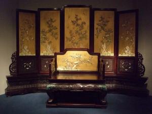 photo of far eastern throne
