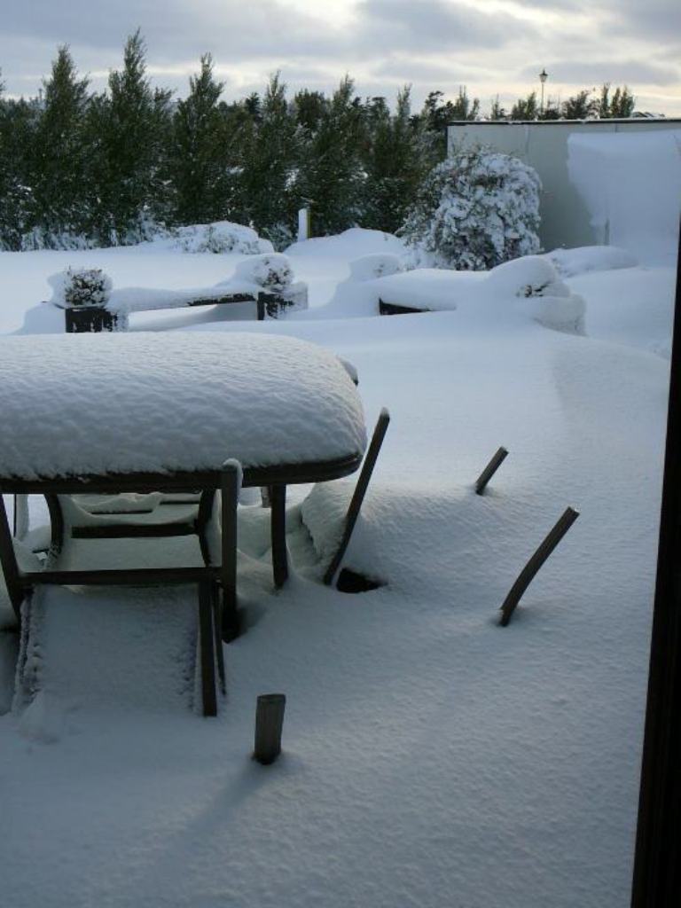 photo of snow cover in New Zealand