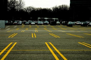picture of a parking lot